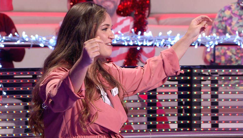 ¡Qué arte! El villancico flamenco con el que Emi pone a bailar a Arturo Valls en '¡Ahora caigo!'