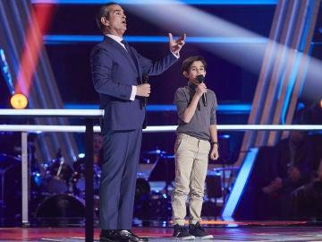 El hijo de Stefano Palatchi se atreve con 'La donna è mobile' en la Semifinal de 'La Voz Senior'