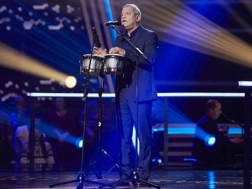 Fernando Liben canta 'Como fue' en la Semifinal de 'La Voz Senior'