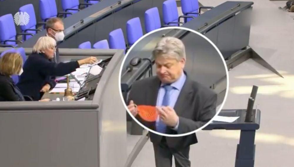 Diputado alemán negacionista