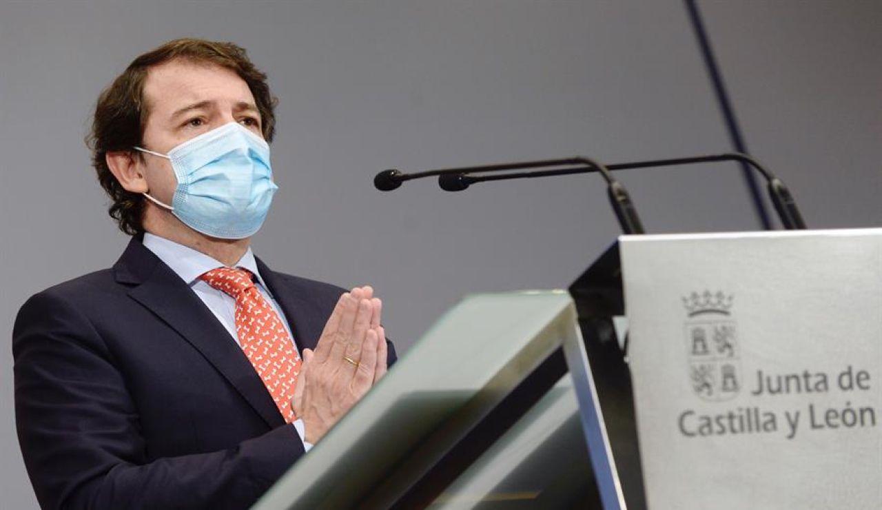 Alfonso Fernández Mañueco - Medidas de Castilla y León para Navidad: Nuevas restricciones por el coronavirus