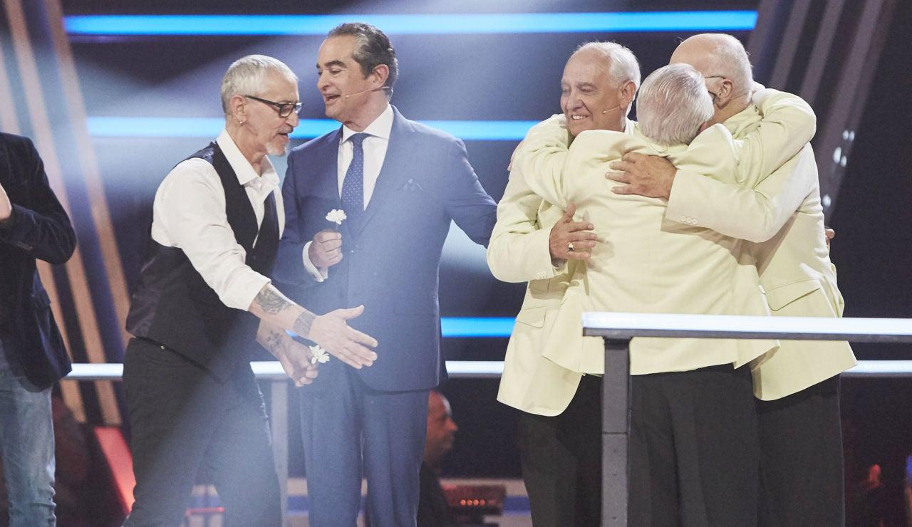 Rosana y Álex Ubago eligen a Los Tres Aries y Mingo Fernández como finalistas de 'La Voz Senior'