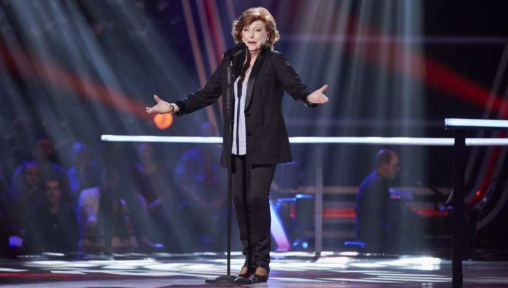 María José Moreno canta 'Volver' en la Semifinal de 'La Voz Senior'