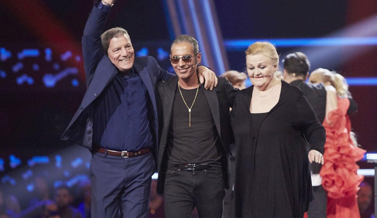 David Bustamante y Pitingo eligen a Fernando Liben y Naida Abanovich como finalistas de 'La Voz Senior'