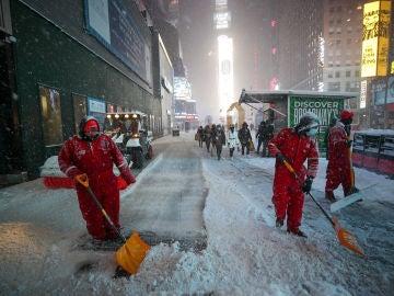 La mayor nevada en años en Nueva York