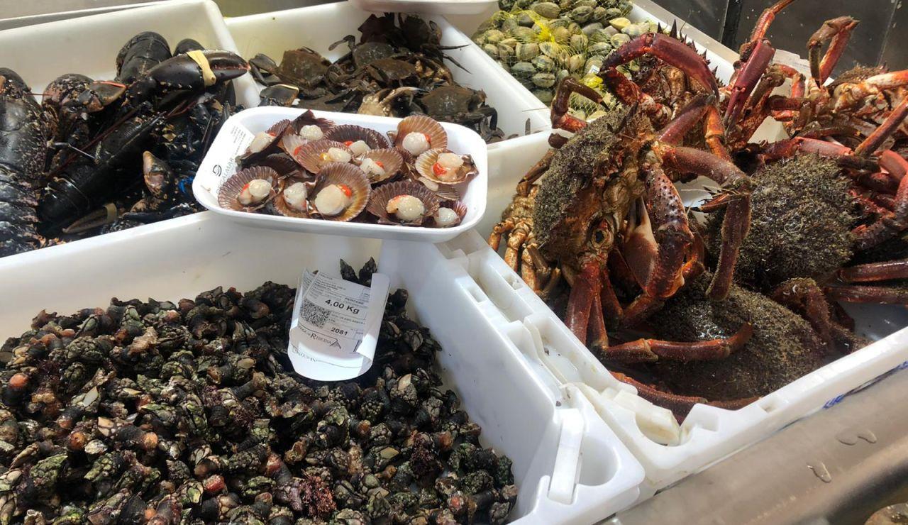 Los precios suben en los mercados gallegos de cara a Navidad