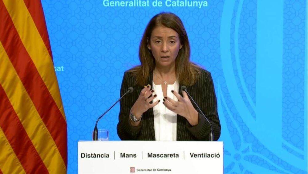 Cataluña: Meritxell Budó anuncia el plan de Navidad por el coronavirus