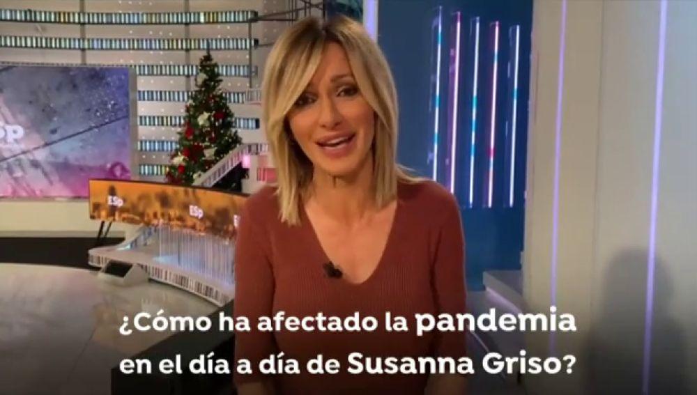 """Susanna Griso se va de vacaciones de Navidad y hace balance de la pandemia de coronavirus: """"Tuve la sensación de que vivía en una realidad paralela"""""""