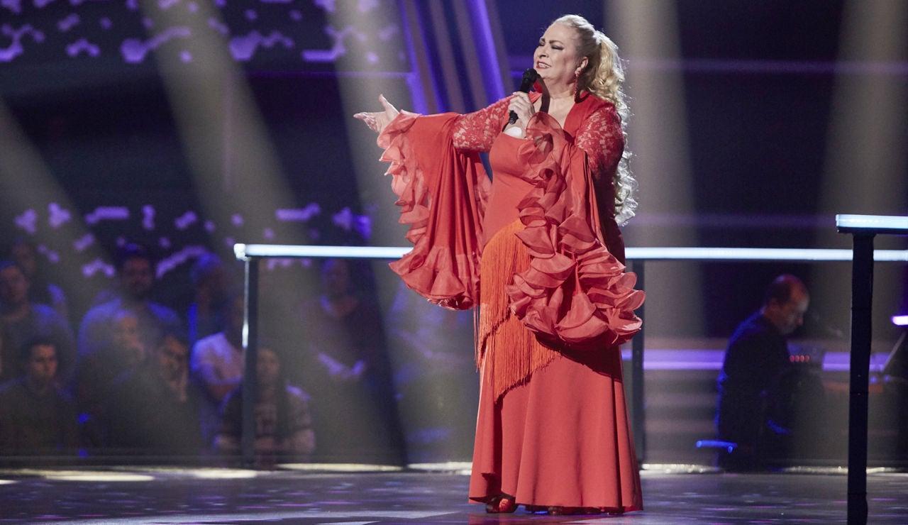 Soledad Luna canta 'Paloma brava' en la Semifinal de 'La Voz Senior'