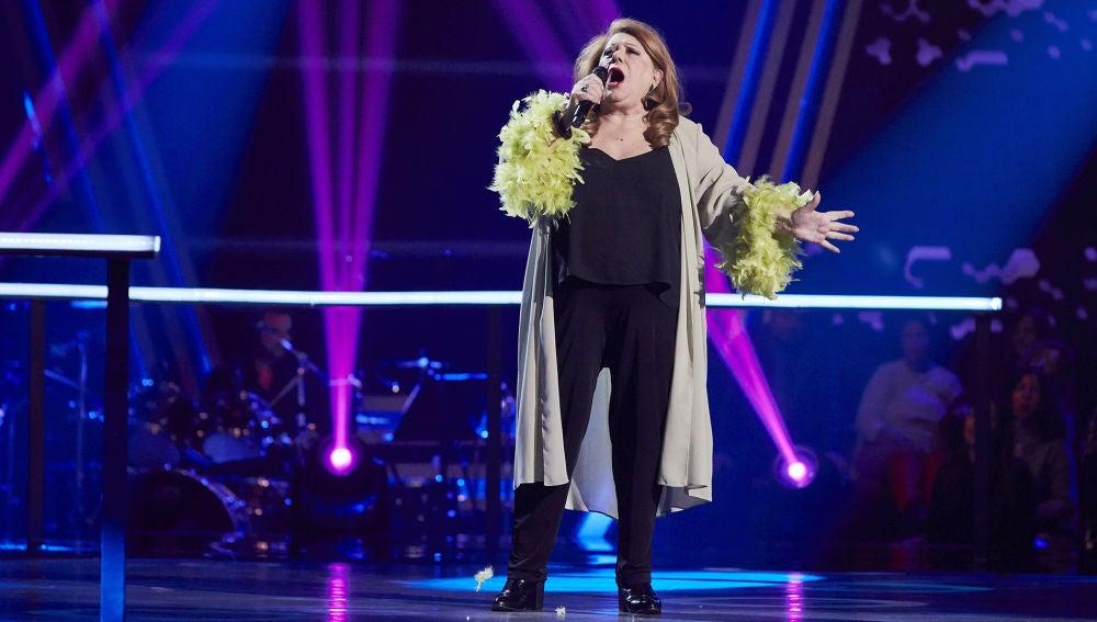 Pepita García canta 'Something' en la Semifinal de 'La Voz Senior'