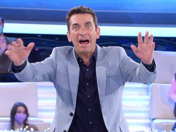 """""""Una vez me mataron por este chiste"""": Arturo Valls repite en '¡Ahora caigo!' su broma más problemática"""
