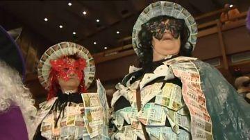 Lotería de Navidad: los disfraces más locos de la historia del sorteo