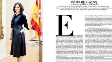 Isabel Díaz-Ayuso en 'Le Figaro'