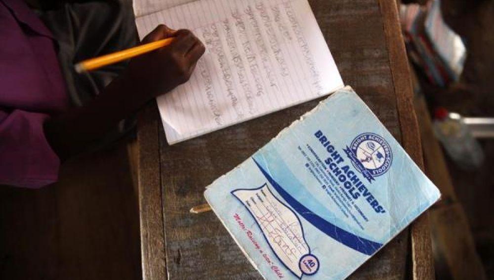 Imagen de archivo de una escuela en Nigeria