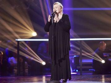 Naida Abanovich canta 'Tosca' en la Semifinal de 'La Voz Senior'