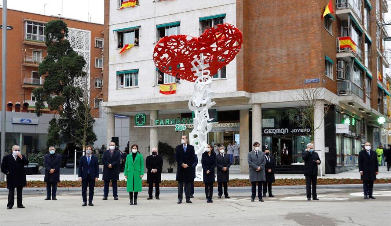 Monumento a los sanitarios en Madird