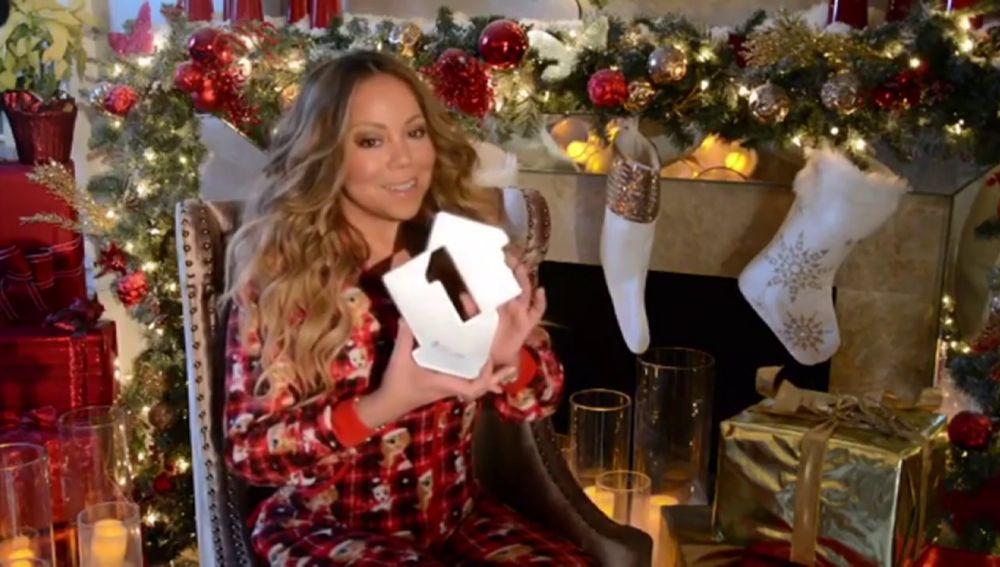 Mariah Carey número uno por primera vez en las listas de Reino Unido