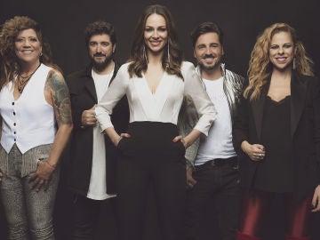 Los ocho finalistas de 'La Voz Senior' tras las decisiones de David Bustamante y Rosana