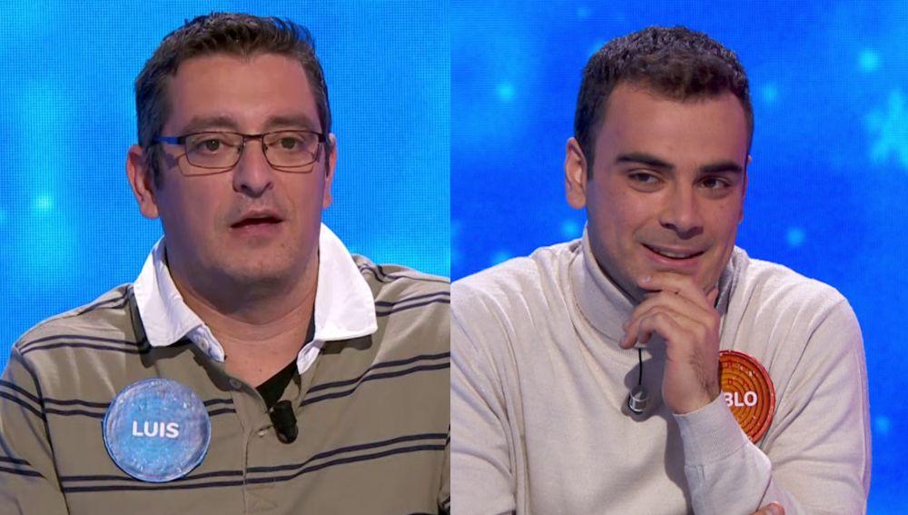 Pablo y Luis confiesan cómo reaccionarían al conocer que se han llevado el bote de 'Pasapalabra'