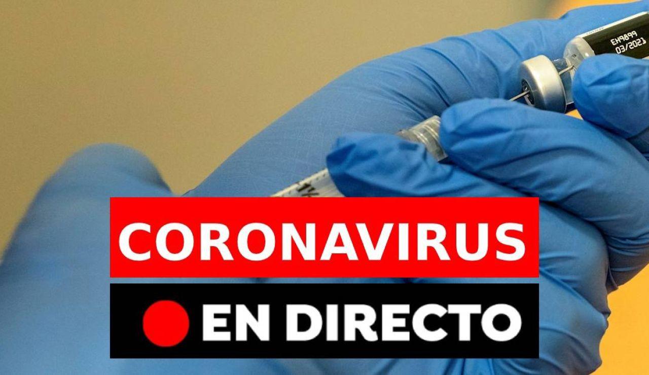 Coronavirus  hoy: Medidas para Navidad, datos de la Covid-19 y vacuna en España, en directo