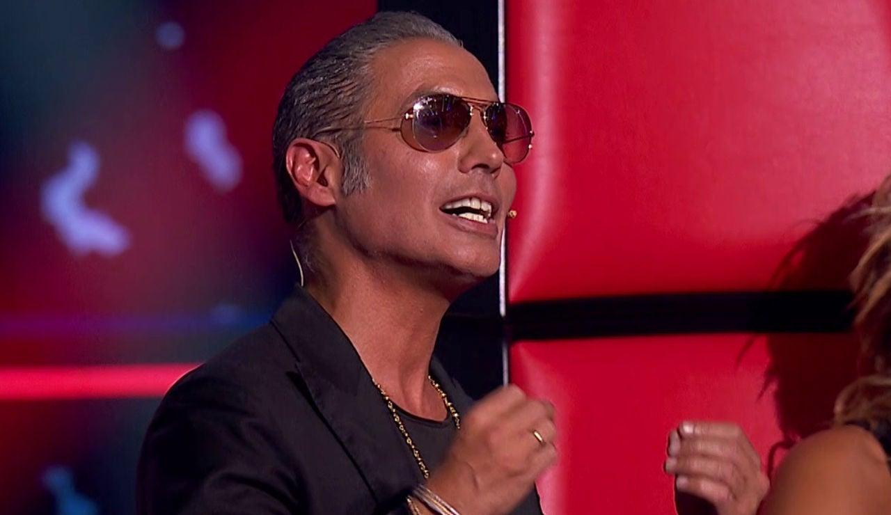 El gran problema de Pitingo con la palabra 'paranoia' que desata las risas de todos en 'La Voz Senior'