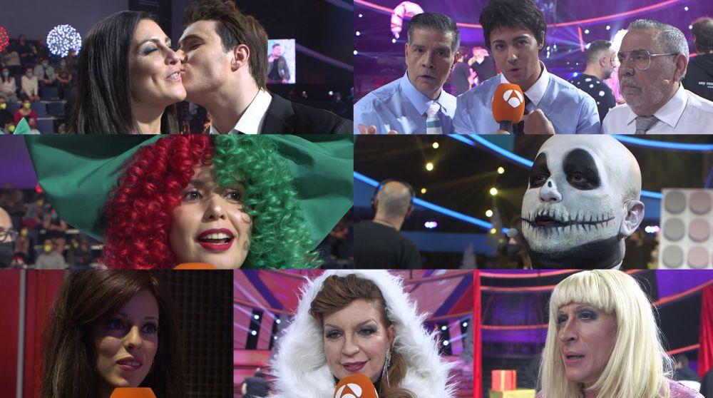 Los concursantes de 'Tu cara me suena' comparten cómo han vivido la gala más mágica del año