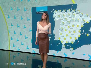 Tu Tiempo (20-12-20) Lluvias en Galicia y Cantábrico y poco nuboso en el resto del país