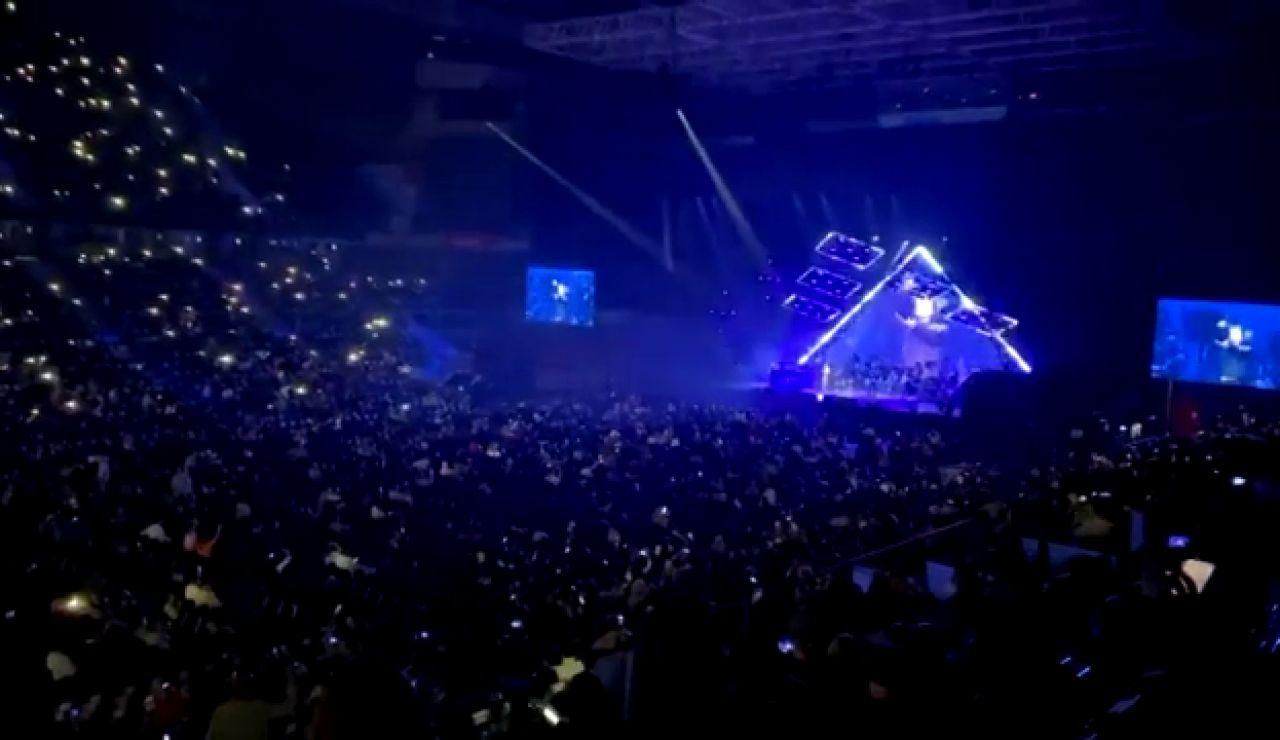 Polémica por el concierto multitudinario de Raphael en el Wizink Center