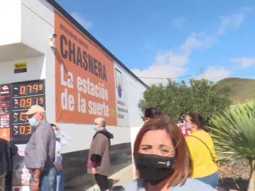 La Chasnera, la gasolinera de la suerte en Tenerife