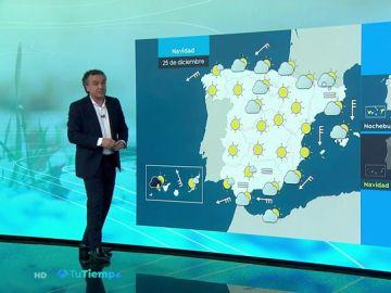 La previsión del tiempo hoy: Jornada de lluvias generalizadas que tenderán a remitir, excepto en Galicia donde serán más fuertes
