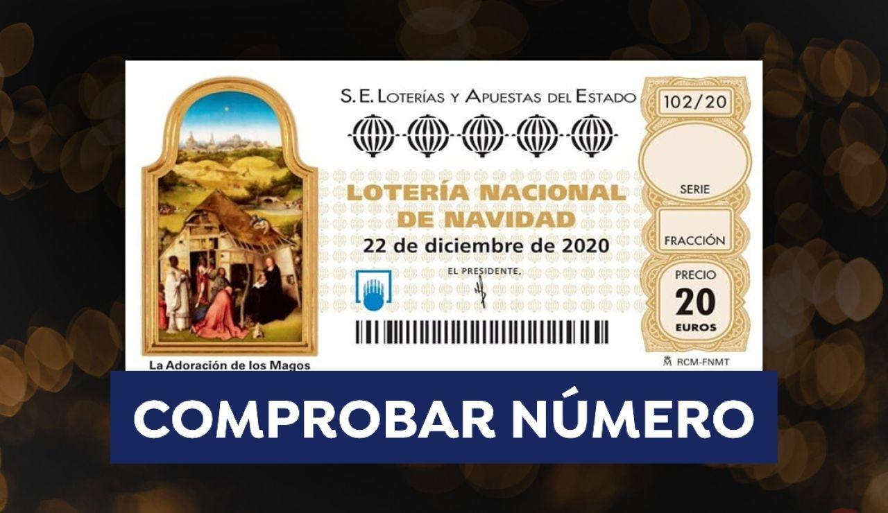 Comprobar Lotería de Navidad 2020: Resultado y comprobador de número del sorteo de hoy
