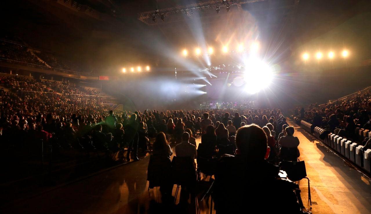 Vista general del concierto del cantante Raphael