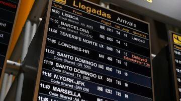 Más de 100 vuelos llegan a España procedentes de Reino Unido