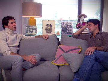 Fran entrevista a su hermano Cayetano Rivera.