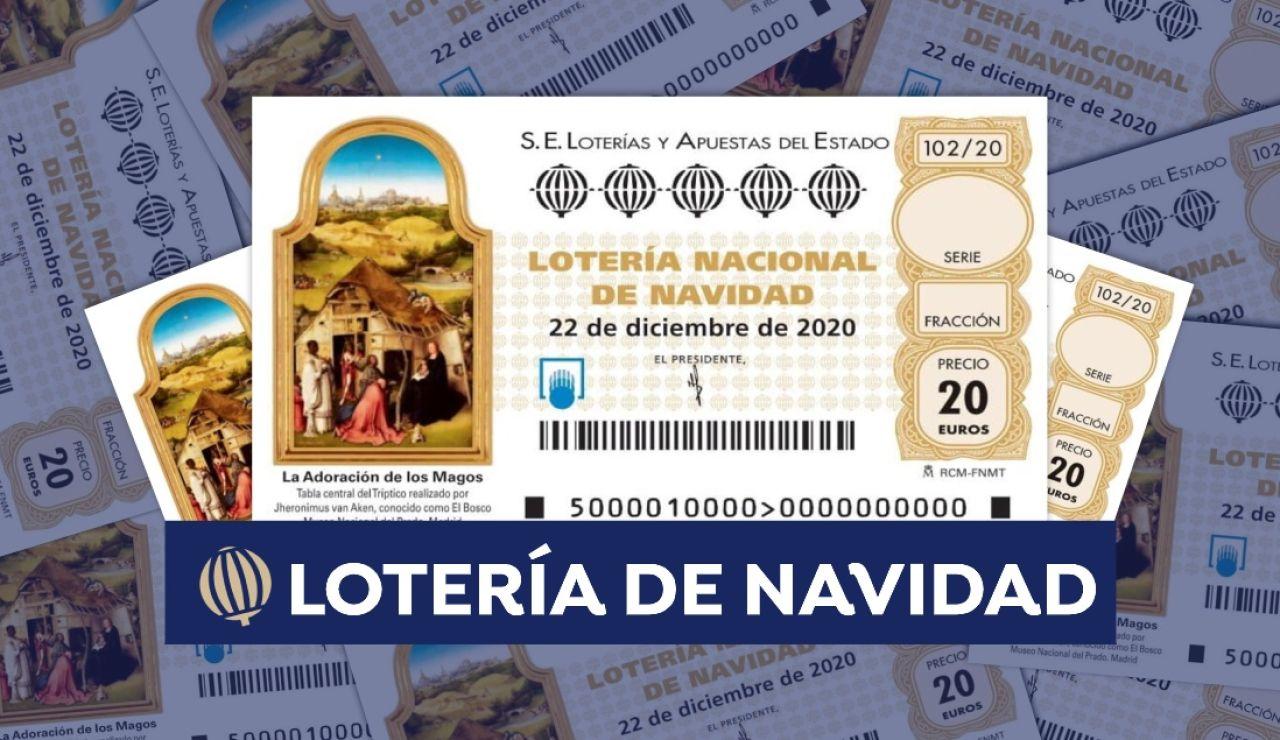 Cuántas series tiene un número de la Lotería de Navidad 2020