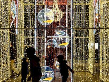 Alumbrado navideño en Valencia
