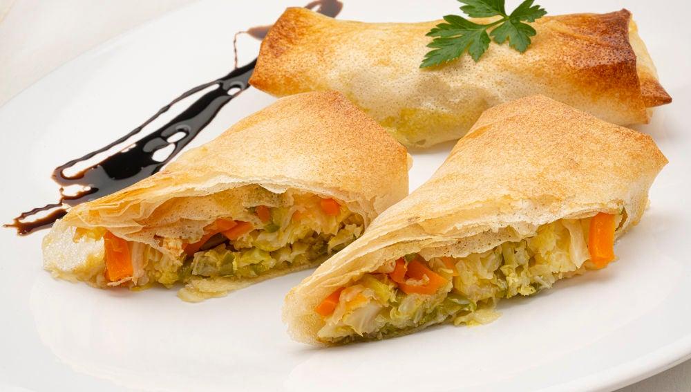 """La receta """"fácil de hacer y rica de comer"""" de Karlos Arguiñano: rollitos de verduras"""