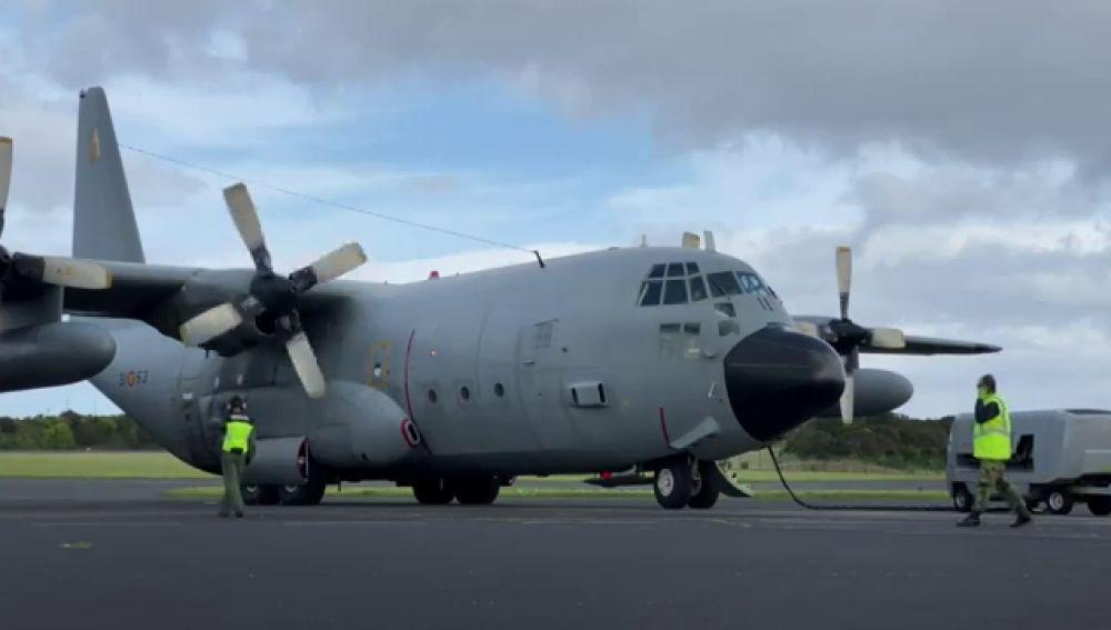 El Ejército del Aire se despide de sus últimos aviones 'Hércules' después de medio siglo de servicio