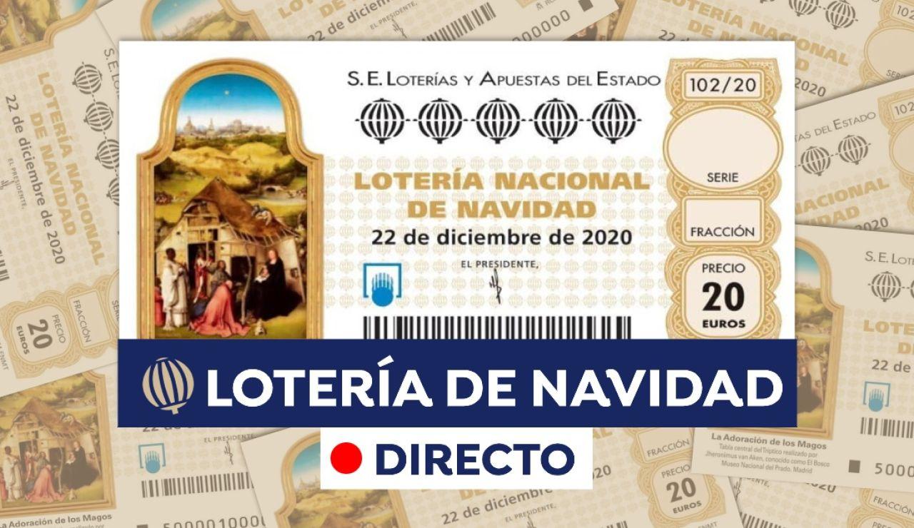 Lotería de Navidad 2020: Sorteo Extraordinario de Navidad, en directo