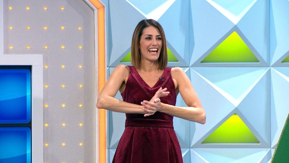 """Laura Moure confiesa su lado más goloso en 'La ruleta de la suerte': """"Y luego te preguntas… ¿Dónde lo mete?"""""""