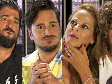 Antonio Orozco, Pastora Soler, Rosana y David Bustamante se arriesgan a completar el 'Abecedario de La Voz'