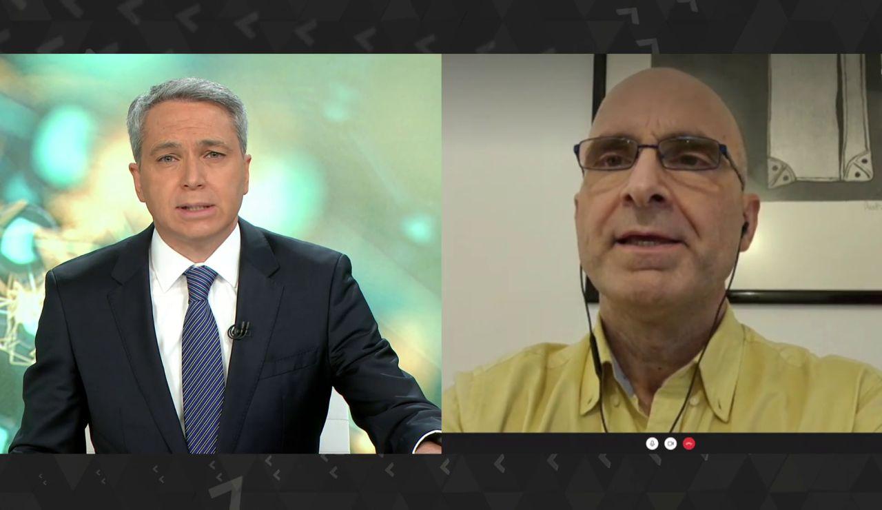Entrevista al virólogo José Antonio López sobre la nueva cepa del coronavirus