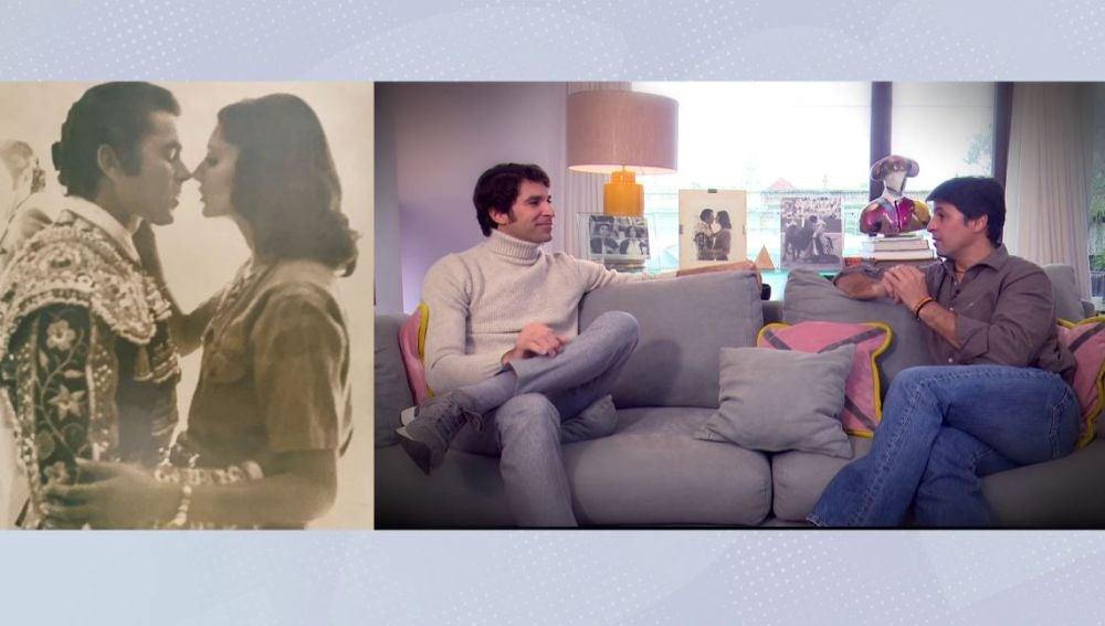 Fran Rivera entrevista a su hermano Cayetano.