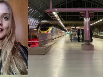 María Torres estudiante 'atrapada' en Londres