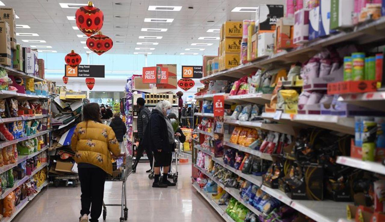 Supermercados en Reino Unido
