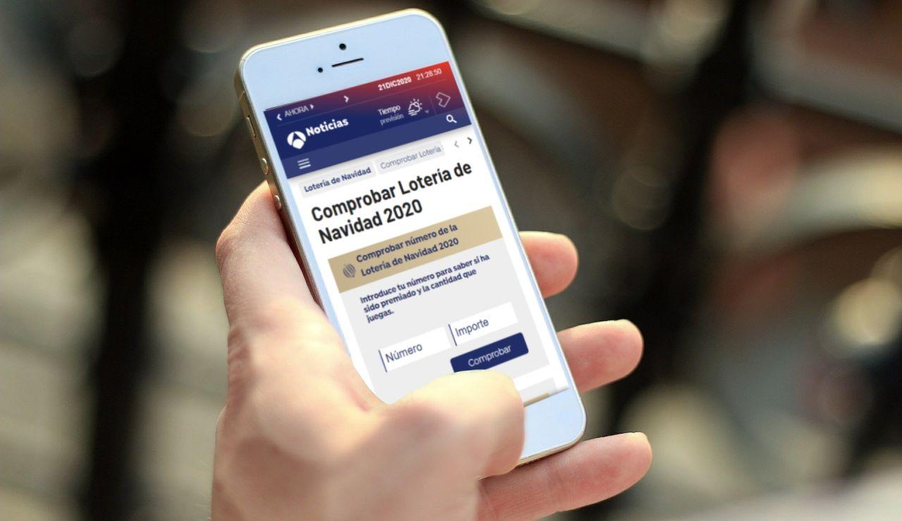 Cómo comprobar online si tu número ha sido premiado en la Lotería de Navidad 2020