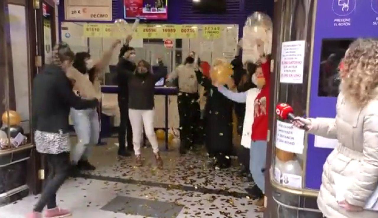 Doña Manolita vuelve a dar el Gordo de la Lotería de Navidad 2020
