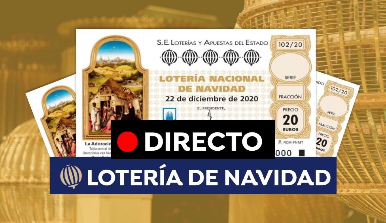 Lotería de Navidad 2020 en directo: Ver sorteo en vídeo en streaming del Teatro Real online