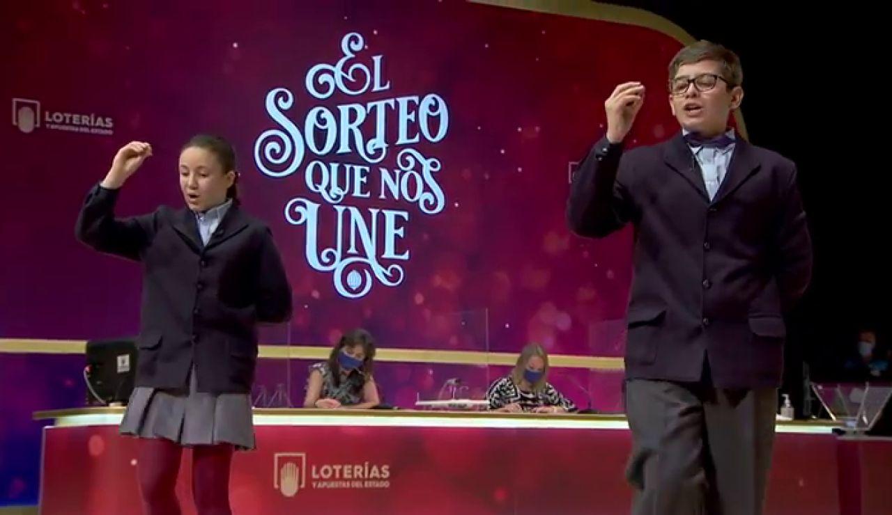 6.095, segundo premio de la Lotería de Navidad 2020 en vídeo