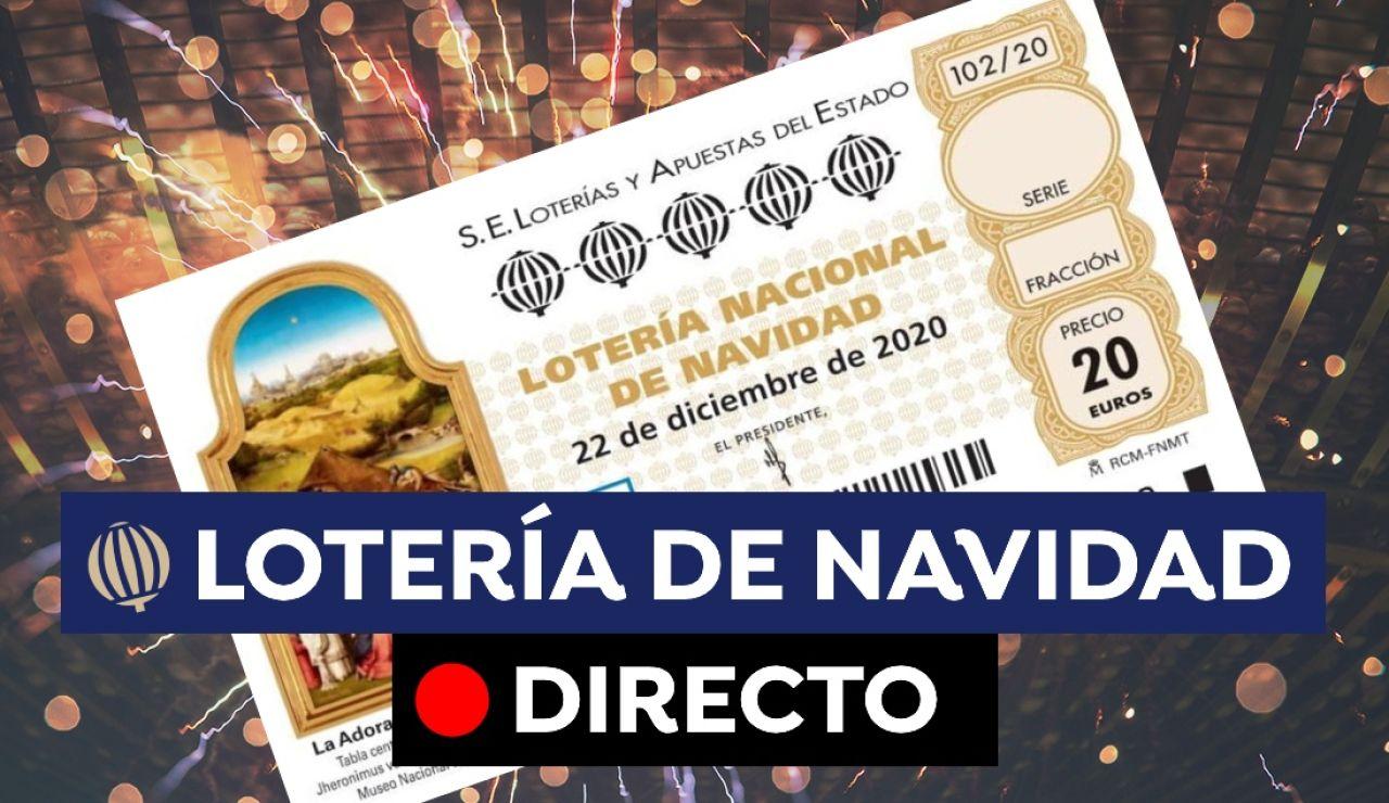 Lotería de Navidad 2020, en directo: Comprobar número y resultado del sorteo de hoy 22 de diciembre